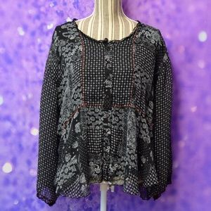 Coldwater Creek Blouse Size Medium
